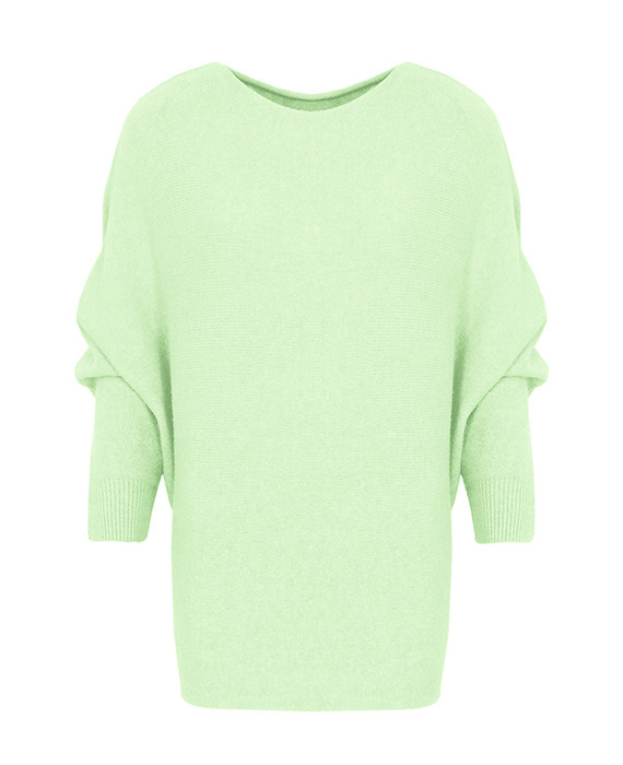 Oversized-Basic-Trui-Lime